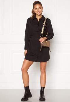 BUBBLEROOM Lorina shirt dress Black Bubbleroom.dk