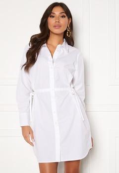 BUBBLEROOM Lorina shirt dress White Bubbleroom.dk