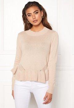 BUBBLEROOM Lova knitted sweater Beige Bubbleroom.dk