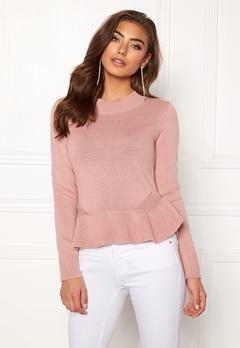 BUBBLEROOM Lova knitted sweater Dusty pink Bubbleroom.dk