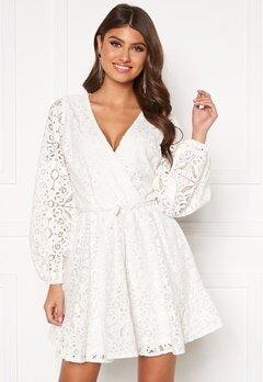 BUBBLEROOM Lykke lace dress White Bubbleroom.dk
