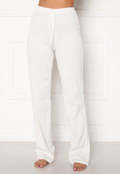 BUBBLEROOM Lynne soft pyjama pants  White Bubbleroom.dk