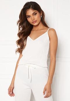 BUBBLEROOM Lynne soft pyjama top White Bubbleroom.dk