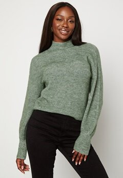 BUBBLEROOM Madina knitted sweater Green bubbleroom.dk