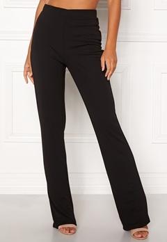BUBBLEROOM Marianna comfy suit trousers Black Bubbleroom.dk