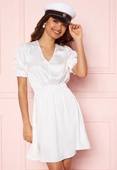 BUBBLEROOM Mayra Puff Sleeve Dress White Bubbleroom.dk