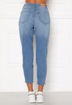BUBBLEROOM Melinda mom jeans  Light denim Bubbleroom.dk