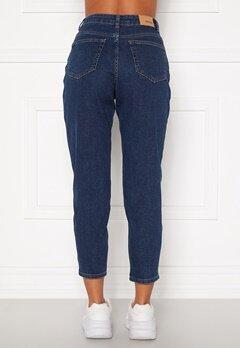 BUBBLEROOM Melinda mom jeans  Dark denim Bubbleroom.dk