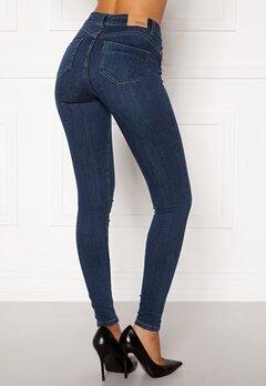 BUBBLEROOM Miranda Push-up jeans Medium blue Bubbleroom.dk