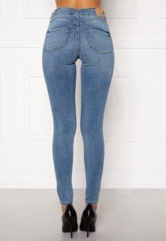 BUBBLEROOM Miranda Push-up jeans Light blue Bubbleroom.dk