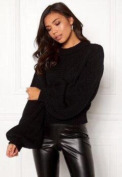 BUBBLEROOM Molly knitted sweater Black Bubbleroom.dk