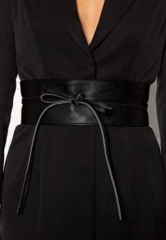BUBBLEROOM Molly tie belt Black Bubbleroom.dk