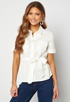 BUBBLEROOM Mya shirt blouse Offwhite Bubbleroom.dk