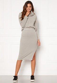 BUBBLEROOM Nelima knitted skirt Grey Bubbleroom.dk