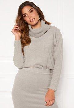 BUBBLEROOM Nelima knitted sweater Grey Bubbleroom.dk