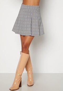 BUBBLEROOM Nellie skirt Black / White / Checked bubbleroom.dk