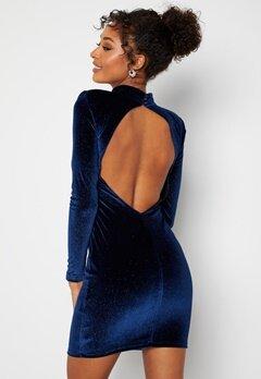 BUBBLEROOM Nicoline Sparkling Dress Blue bubbleroom.dk