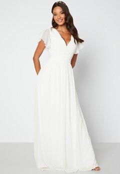 Bubbleroom Occasion Lovette Wedding Gown White bubbleroom.dk