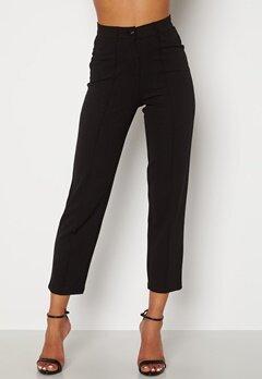 BUBBLEROOM Peyton soft suit trousers Black Bubbleroom.dk