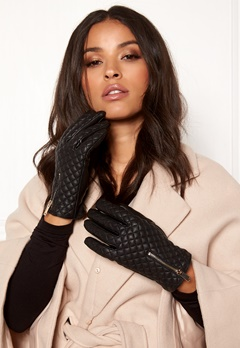BUBBLEROOM Quinny guilted gloves Black Bubbleroom.dk