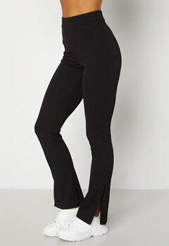 BUBBLEROOM Roselyn suit slit pants Black Bubbleroom.dk
