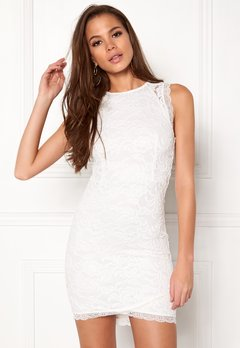 BUBBLEROOM Salma Lace Dress White Bubbleroom.dk