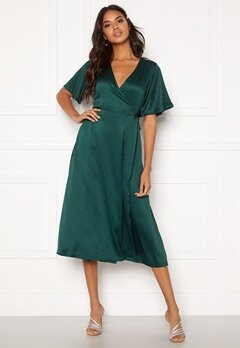 BUBBLEROOM Scala dress Dark green Bubbleroom.dk