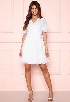 BUBBLEROOM Scarlette dotted dress White Bubbleroom.dk