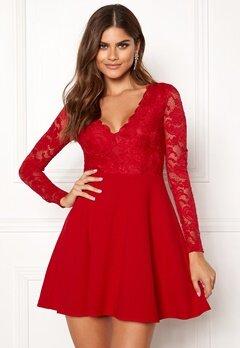 BUBBLEROOM Shelby dress Red Bubbleroom.dk