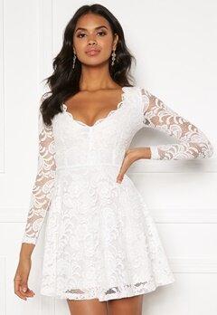 BUBBLEROOM Shione lace dress White Bubbleroom.dk