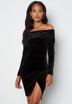 BUBBLEROOM Sofielle Velvet Dress Black bubbleroom.dk