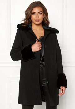 BUBBLEROOM Sophia coat Black Bubbleroom.dk