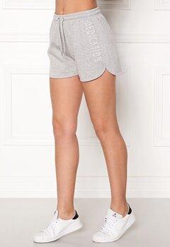 BUBBLEROOM SPORT Balance shorts Grey melange Bubbleroom.dk