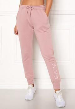 BUBBLEROOM SPORT Balance sweat pants Dusty pink Bubbleroom.dk
