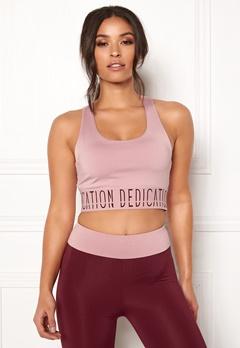 BUBBLEROOM SPORT Crave it sport bra Dusty pink / Print Bubbleroom.dk
