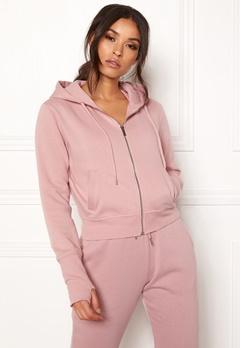 BUBBLEROOM SPORT Divine hoodie Dusty pink Bubbleroom.dk