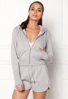 BUBBLEROOM SPORT Divine hoodie Grey melange Bubbleroom.dk
