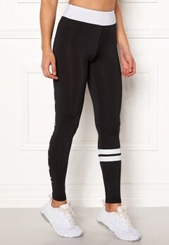 BUBBLEROOM SPORT Move it sport tights Black / White Bubbleroom.dk