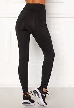 BUBBLEROOM SPORT Sculpture High waist Sport tights Black Bubbleroom.dk