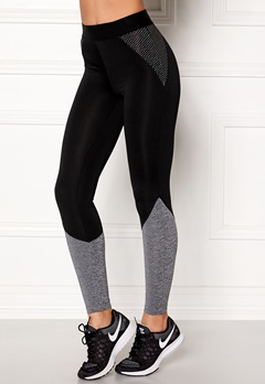 BUBBLEROOM SPORT Strongest sport tights Black / Dark grey Bubbleroom.dk