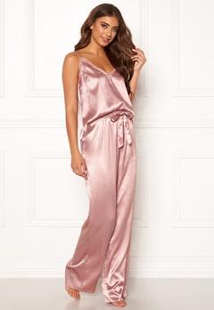 BUBBLEROOM Stephanie pyjama pants Dusty pink Bubbleroom.dk
