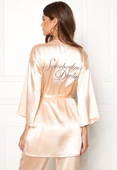 BUBBLEROOM Stephanie robe Champagne Bubbleroom.dk
