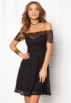 BUBBLEROOM Superior lace dress Black Bubbleroom.dk