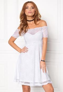 BUBBLEROOM Superior lace dress White Bubbleroom.dk
