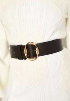 BUBBLEROOM Talia belt Black / Gold Bubbleroom.dk