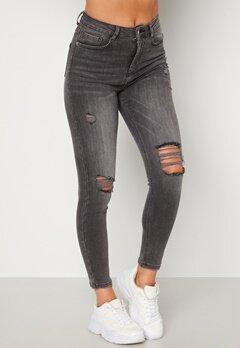BUBBLEROOM Vegha distressed jeans Grey denim bubbleroom.dk
