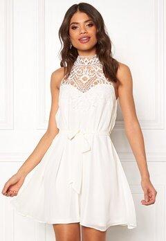 BUBBLEROOM Venita short dress White Bubbleroom.dk