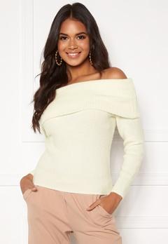 BUBBLEROOM Dani knitted sweater White Bubbleroom.dk