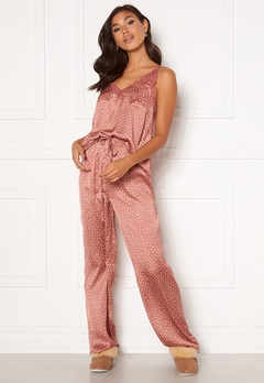 BUBBLEROOM Steph printed pyjama set Dusty pink / Dotted Bubbleroom.dk