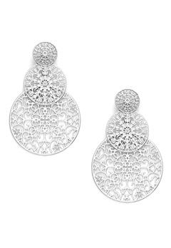 BY JOLIMA Spinn Triple Earring Silver Bubbleroom.dk